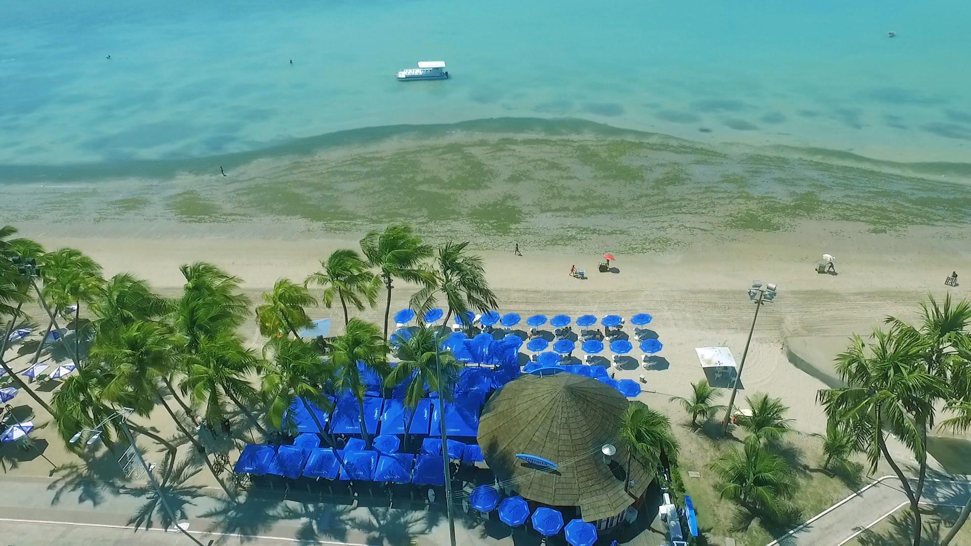 Imagem aérea do Bar de Praia Lopana