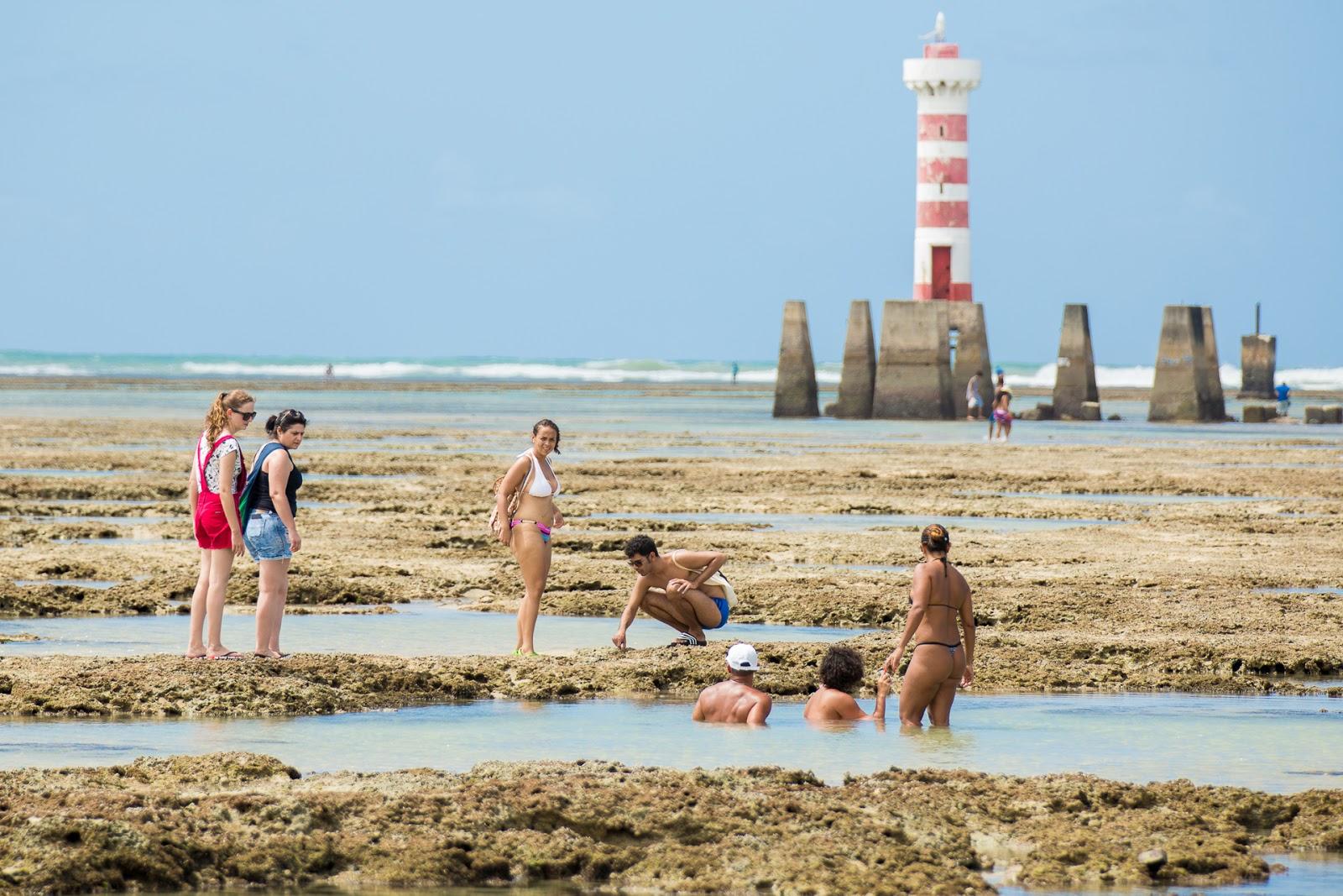 Foto do Farol da Praia de Ponta Verde