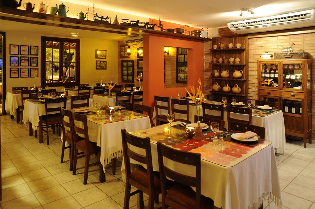 Área interna do Restaurante Picuí, em Maceió Alagoas