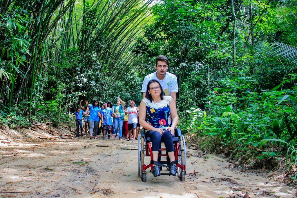 Atividades Inclusivas Parque Municipal Maceió
