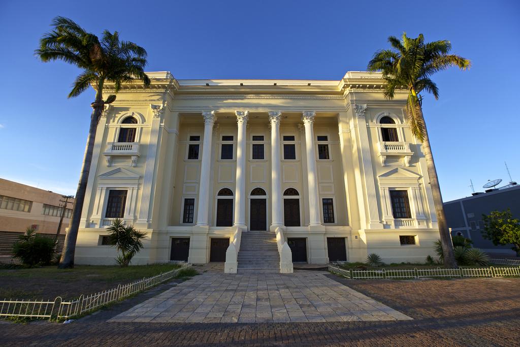 Fachada da Associação Comercial de Maceió, no bairro de Jaraguá Alagoas