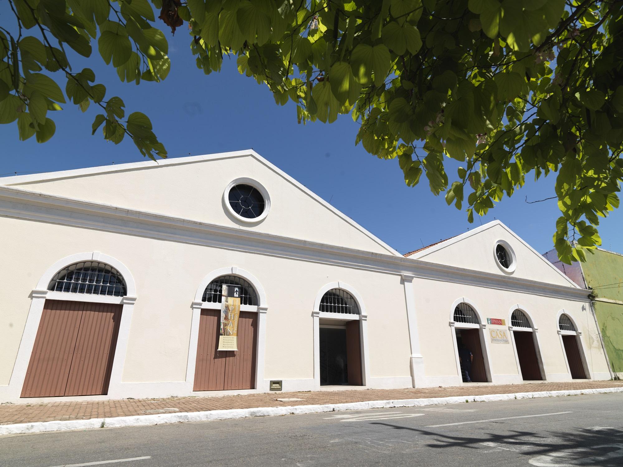Fachada da Casa do Patrimônio IPHAN Alagoas, no bairro de Jaraguá Maceió
