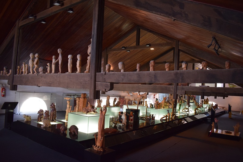 Exposição permanente da Casa do Patrimônio IPHAN Alagoas, no bairro de Jaraguá em Maceió
