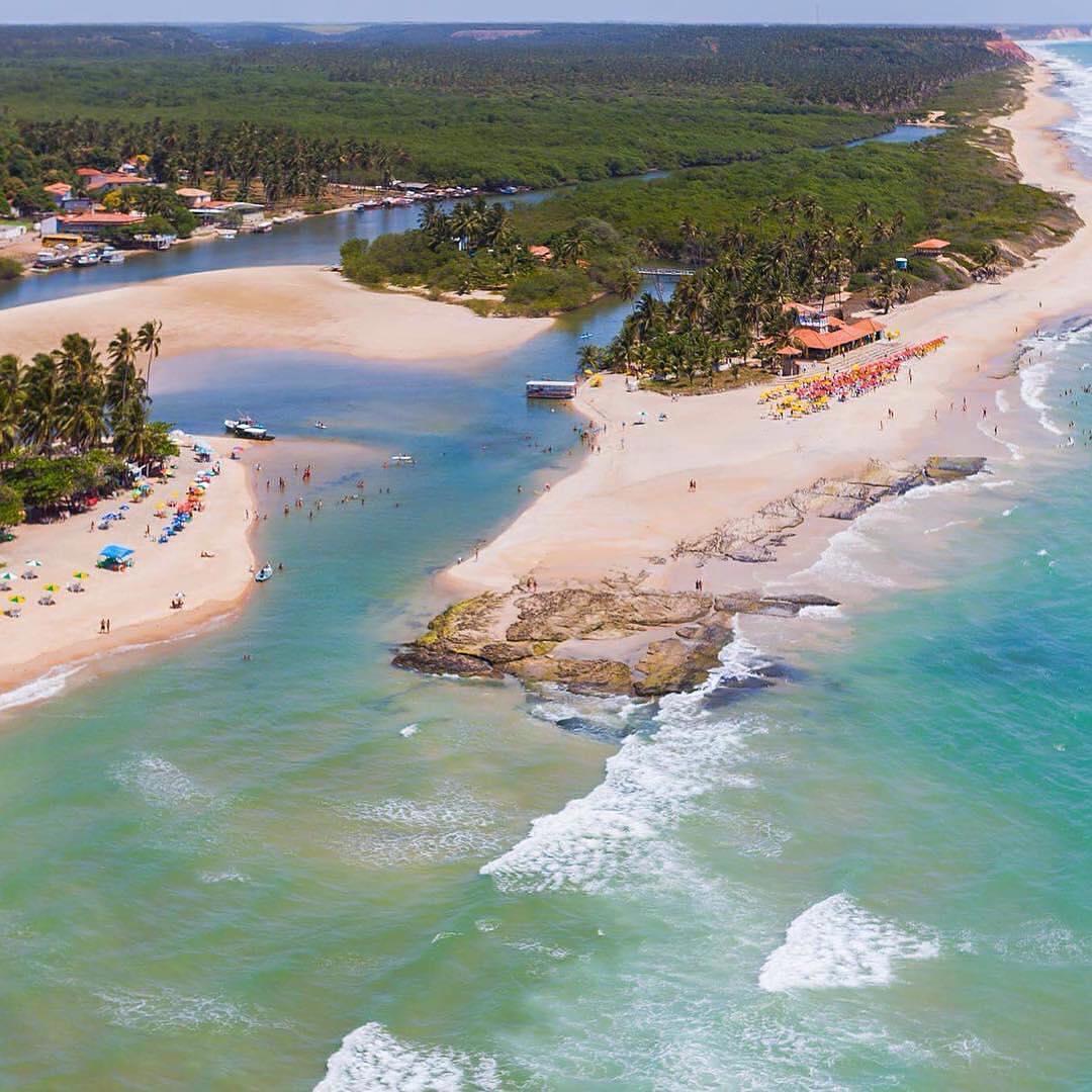 Vista aérea complexo Dunas de Marapé, em Alagoas